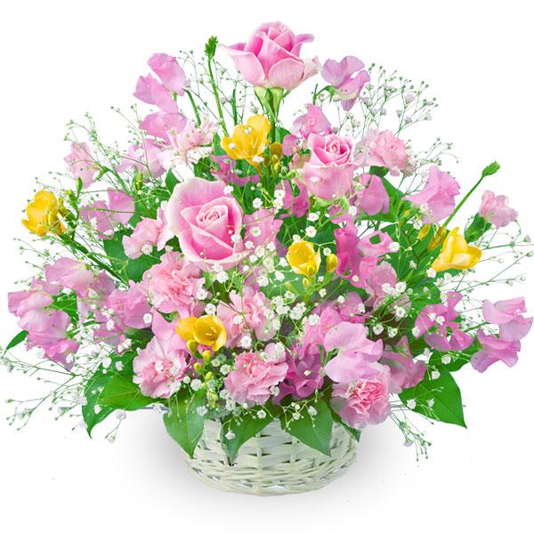 【春の卒業・入学祝い】春のミックスバスケット 511026 |花キューピットの2020春の卒業・入学祝い特集