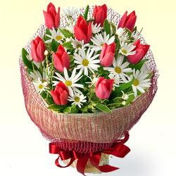 チューリップの花束 |フラワーバレンタインにおすすめ!人気のプレゼント特集 2019 |フラワーバレンタイン