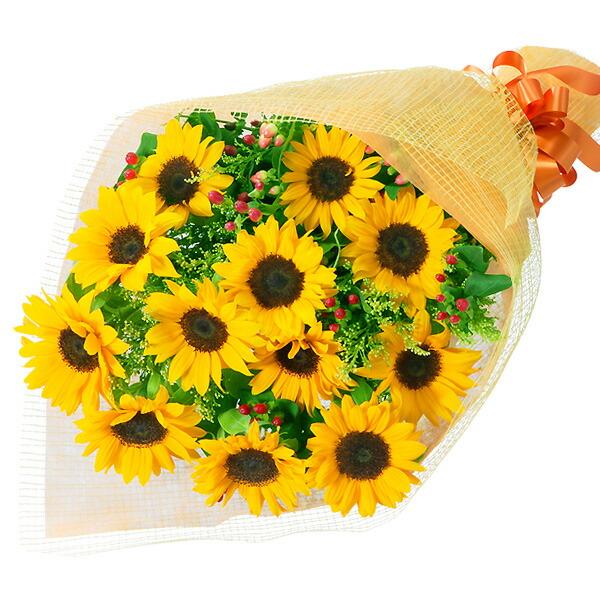 【結婚記念日】ひまわりの花束 511143 |花キューピットの結婚記念日プレゼント特集2020