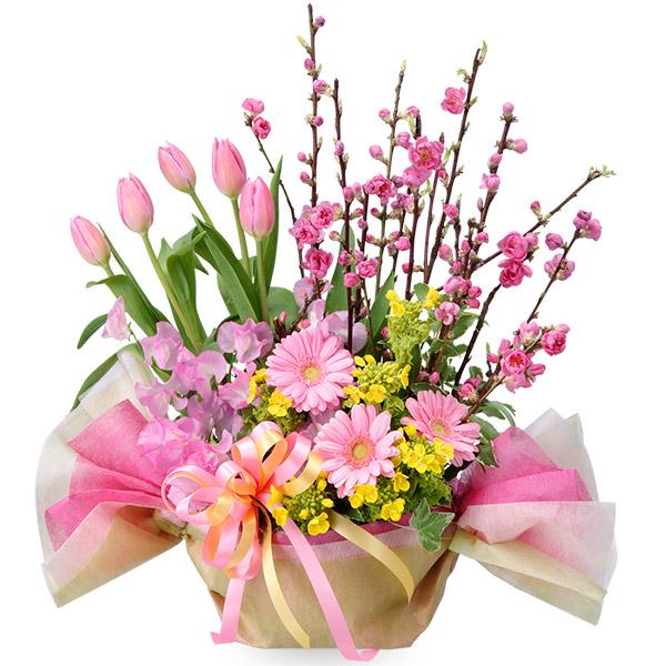 【ひな祭り】ひなまつりのひし餅アレンジメント 511227 |花キューピットの2020ひな祭り特集