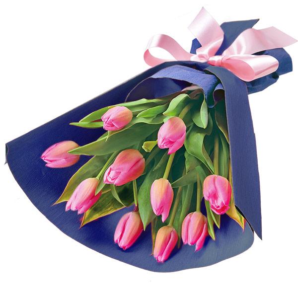 ピンクチューリップの花束 |フラワーバレンタインにおすすめ!人気のプレゼント特集 2019 |フラワーバレンタイン