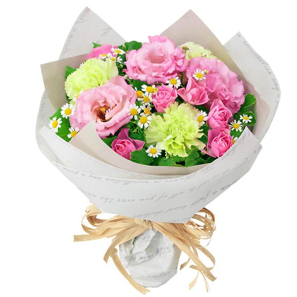 【秋の結婚記念日】バラとトルコキキョウのナチュラルブーケ 511967 |花キューピットの2019秋のお祝いプレゼント特集