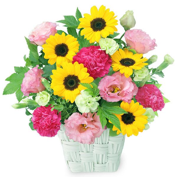 【結婚記念日】ひまわりの鮮やかアレンジメント 511986 |花キューピットの結婚記念日プレゼント特集2020