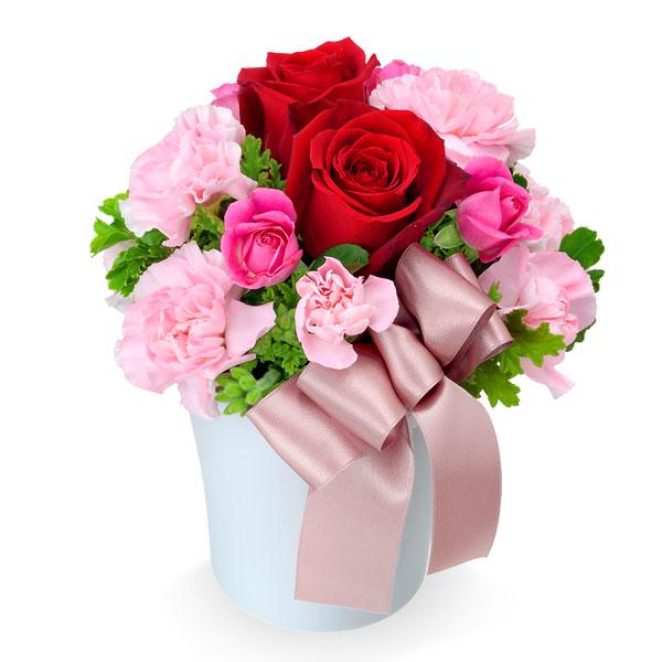 【バレンタイン特集】赤バラのナチュラルアレンジメント 512052 |花キューピットのフラワーバレンタイン特集2020