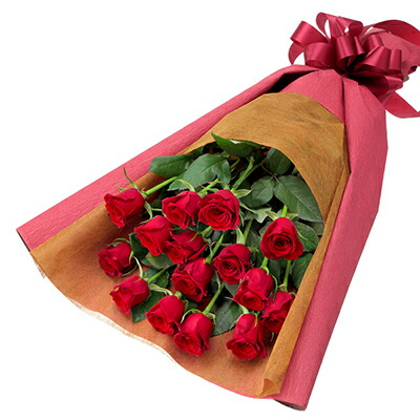 【クリスマス】赤バラの花束 512186 |花キューピットのクリスマスプレゼント特集2020