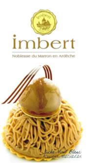 マロン製品のトップメーカー、フランス・アンベール社