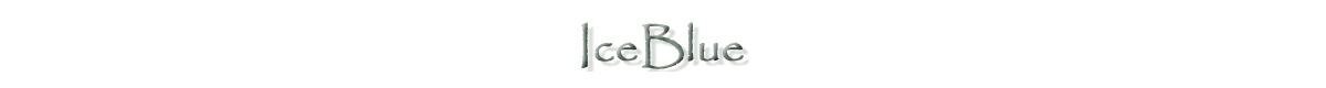 IceBlue アイスブルー