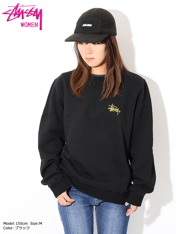 STUSSYステューシーのトレーナー WOMEN Basic Logo Crew Sweat03