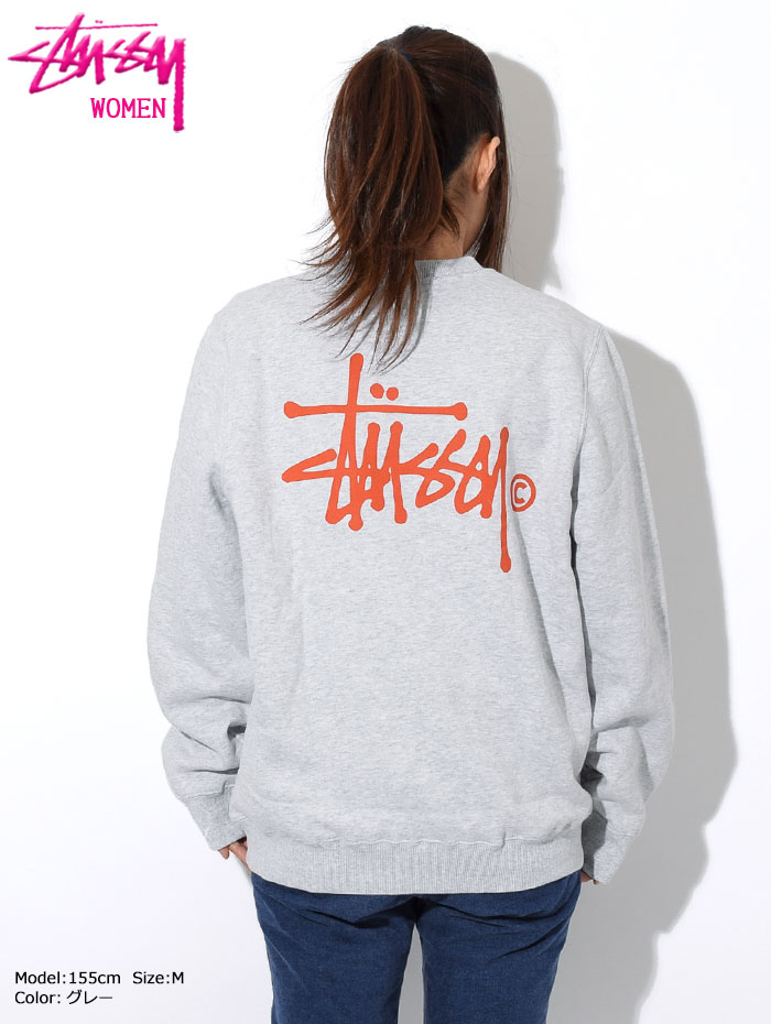 STUSSYステューシーのトレーナー WOMEN Basic Logo Crew Sweat07