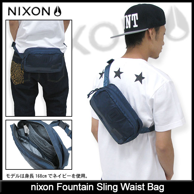 ice field | Rakuten Global Market: Nixon nixon fountain Sling bag ...