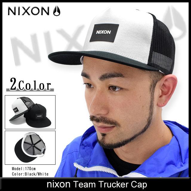 ice field  Nixon nixon Cap mens team Trucker Cap (the nixon Team ... 883ba0db836