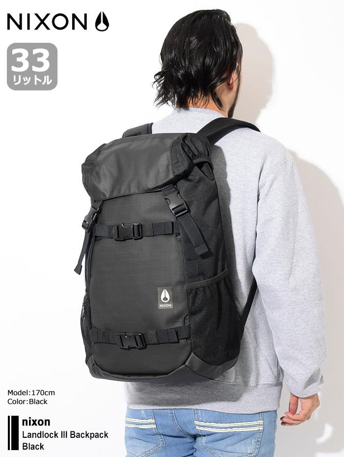 nixonニクソンのリュック Landlock III Backpack01