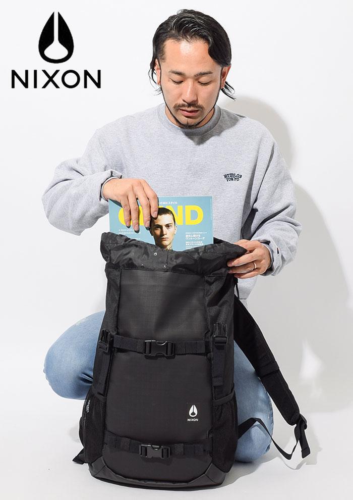 nixonニクソンのリュック Landlock III Backpack02