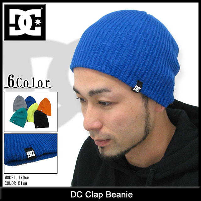 CLAP BEANIE HAT AVAILABLE IN 4 COLOURS DC SHOES