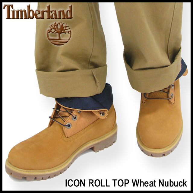 timberland icon basic roll top boots