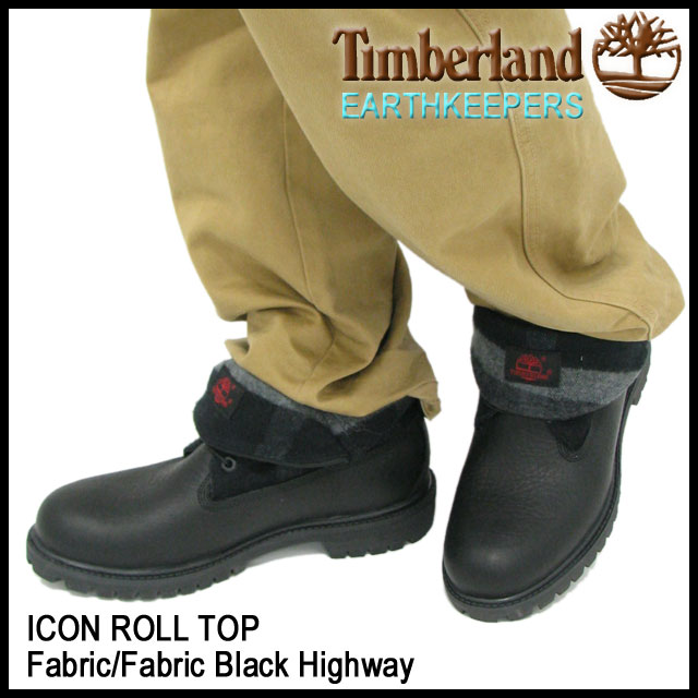 Timberland Icon Roll Top Fabric Boot