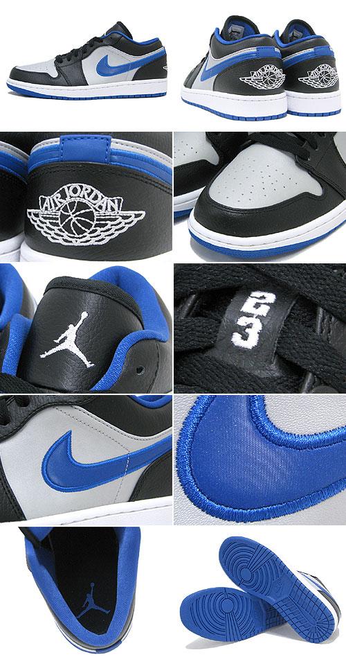 aee2a7ccf76 ice field  1 1 nike NIKE sneakers Air Jordan low Black White Game ...