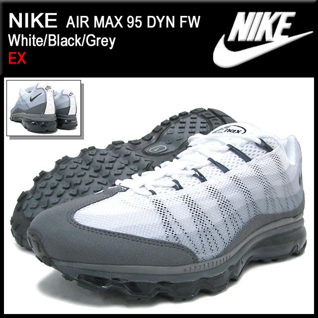【楽天市場】ナイキ NIKE スニーカー エア マックス 95 DYN FW White/Black/Grey 限定 メンズ(男性用) (nike  AIR MAX 95 DYN FW EX Sneaker sneaker SNEAKER MENS・靴 ...