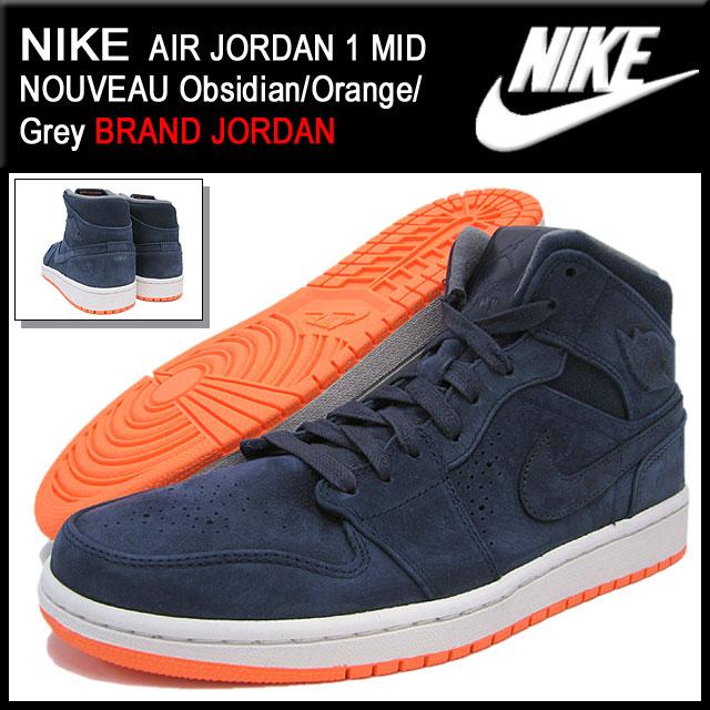 090c85d3663466 ice field  Nike NIKE sneakers Air Jordan 1 mid Nouveau Obsidian ...