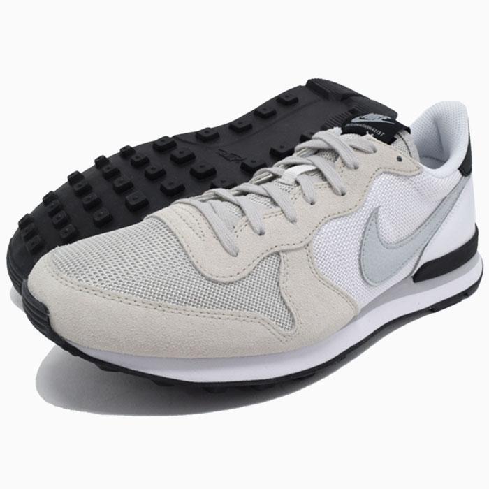 Nike NIKE sneakers Womens internationalist Light BoneGrey MistWhiteBlack limited edition women's (women's) (nike WMNS INTERNATIONALIST Limited mens