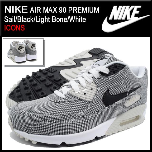 timeless design 629e2 f6b92 Nike NIKE sneakers Air Max 90 premium Sail Black Light Bone White limited  edition men s (men s) (nike AIR MAX 90 PREMIUM ICONS Sneaker MENS-shoes  shoes ...
