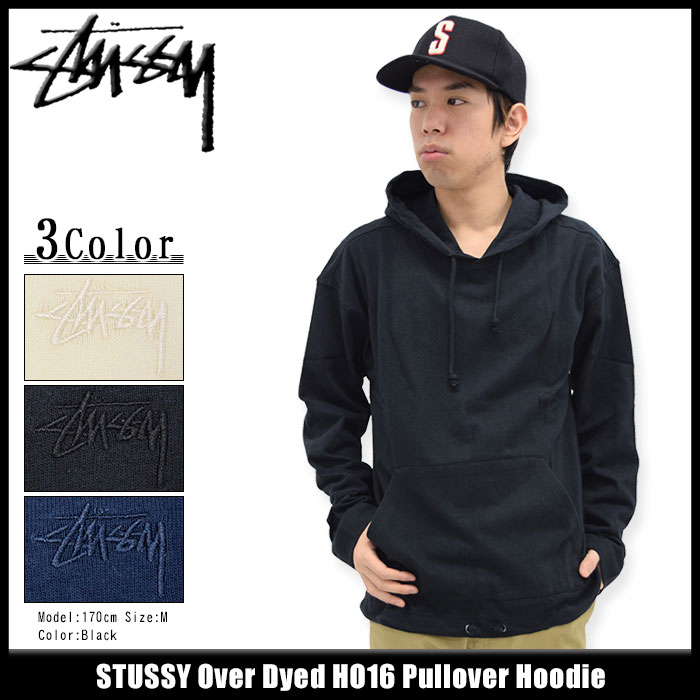 STUSSYステューシーのパーカー Over Dyed HO16 01