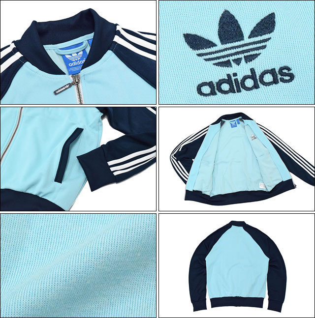 Adidas adidas Jersey Super Star truck top Jersey jacket light blue / Navy originals (menu0027s tops for the ADIDAS Adidas Super Star Track Top Jersey JKT ...  sc 1 st  Rakuten & ice field | Rakuten Global Market: Adidas adidas Jersey Super Star ... azcodes.com