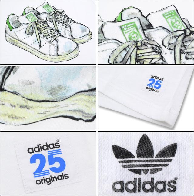 ????? ??????×NIGO adidas Originals by NIGO 25 ??? T??? ?? ??? ??????(ADIDAS Adidas 25 Stan SS Tee ??? W??? Originals T??? ??? ??? S24491) ice filed