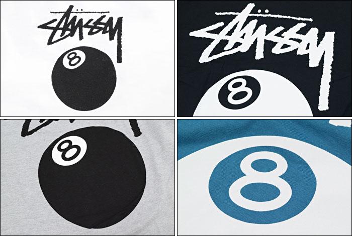 STUSSYステューシーのTシャツ 8 Ball05