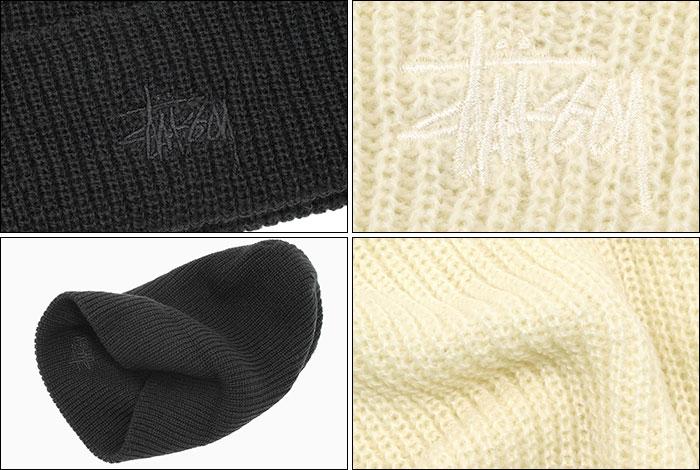 STUSSYステューシーのニット帽 Basic FA18 Cuff Beanie03
