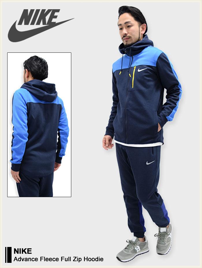 a09be47c3c83 ice field  Nike NIKE Hoodie zip-up men s advanced Fleece Full Zip ...