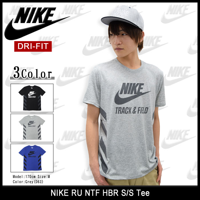 NIKEナイキのTシャツ RU NTF HBR01