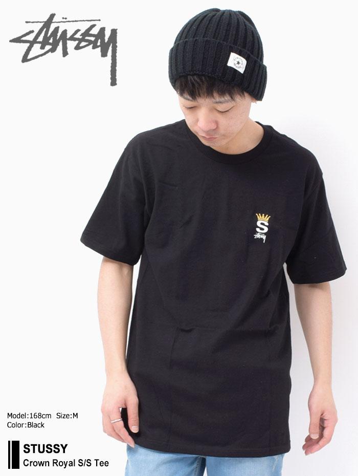 STUSSYステューシーのTシャツ Crown Royal01