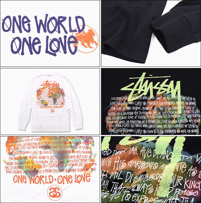 STUSSYステューシーのTシャツ One World03