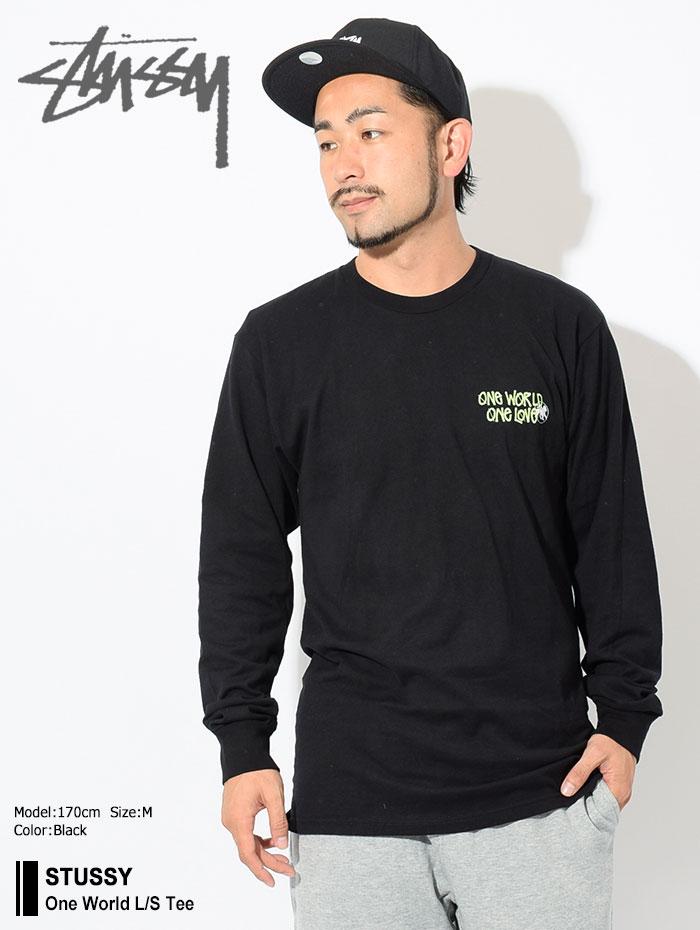STUSSYステューシーのTシャツ One World01