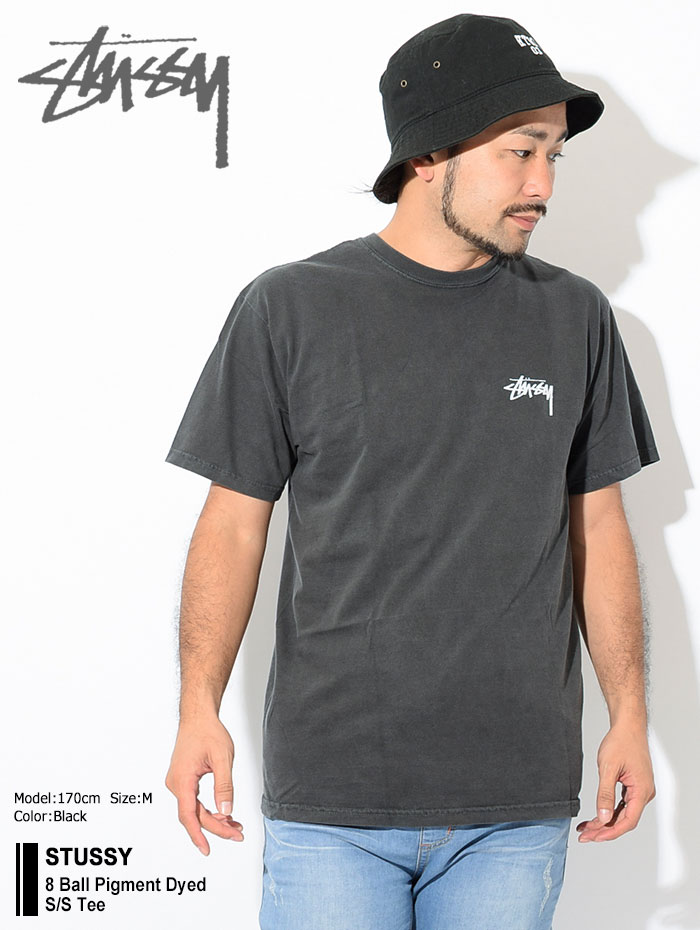 STUSSYステューシーのTシャツ 8 Ball Pigment Dyed01