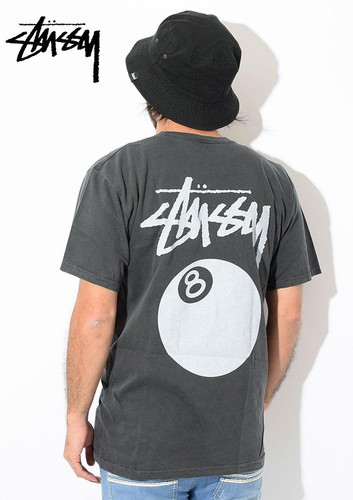 STUSSYステューシーのTシャツ 8 Ball Pigment Dyed02