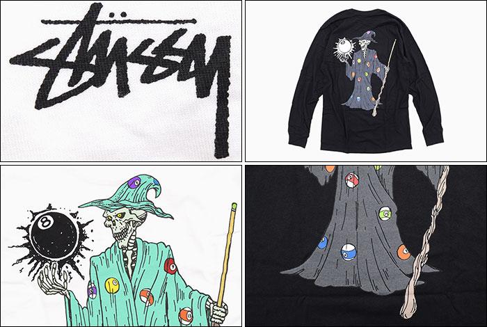 STUSSYステューシーのTシャツ Wizard03