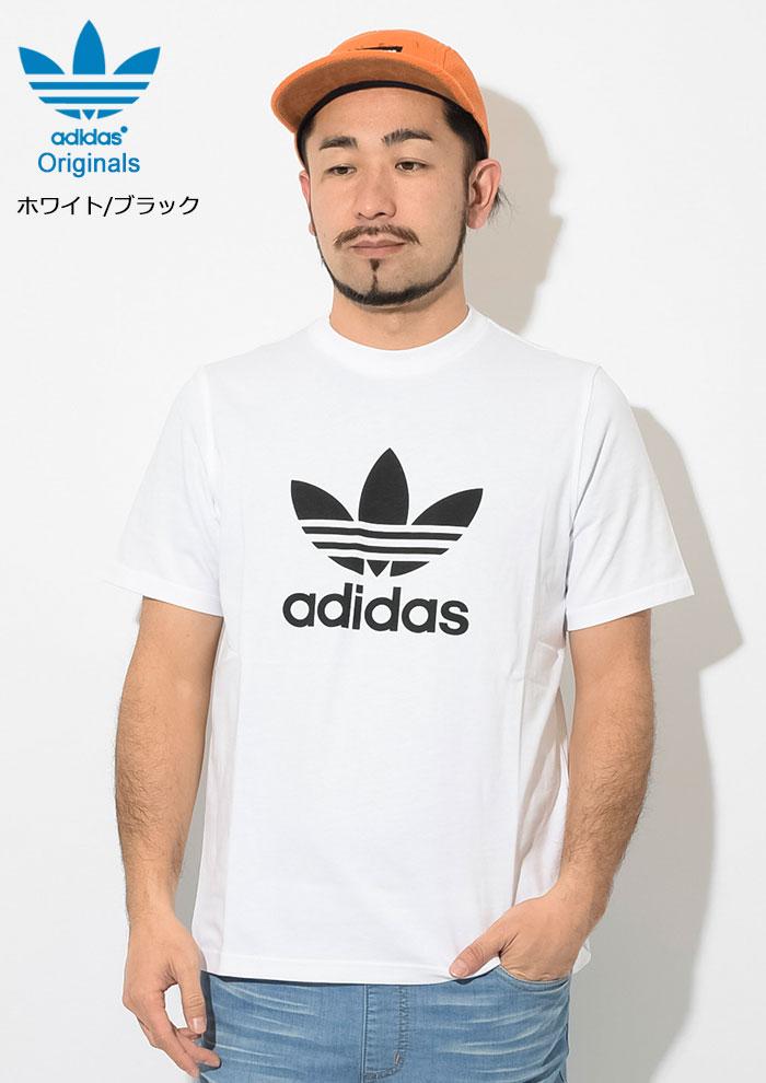 adidasアディダスのTシャツ トレフォイル04