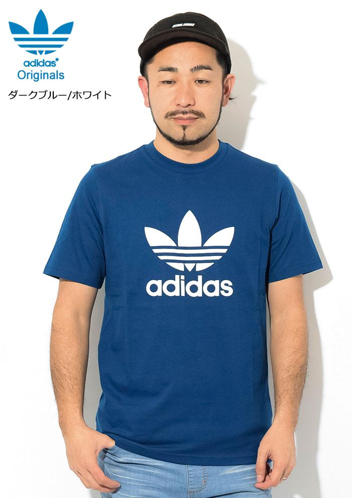 adidasアディダスのTシャツ トレフォイル06