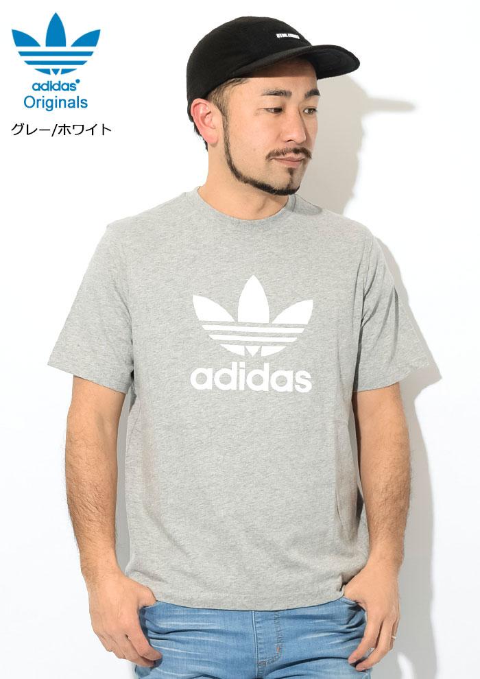 adidasアディダスのTシャツ トレフォイル07