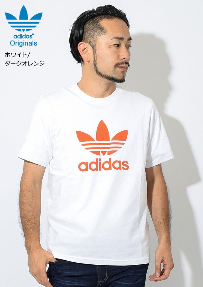 adidasアディダスのTシャツ トレフォイル08