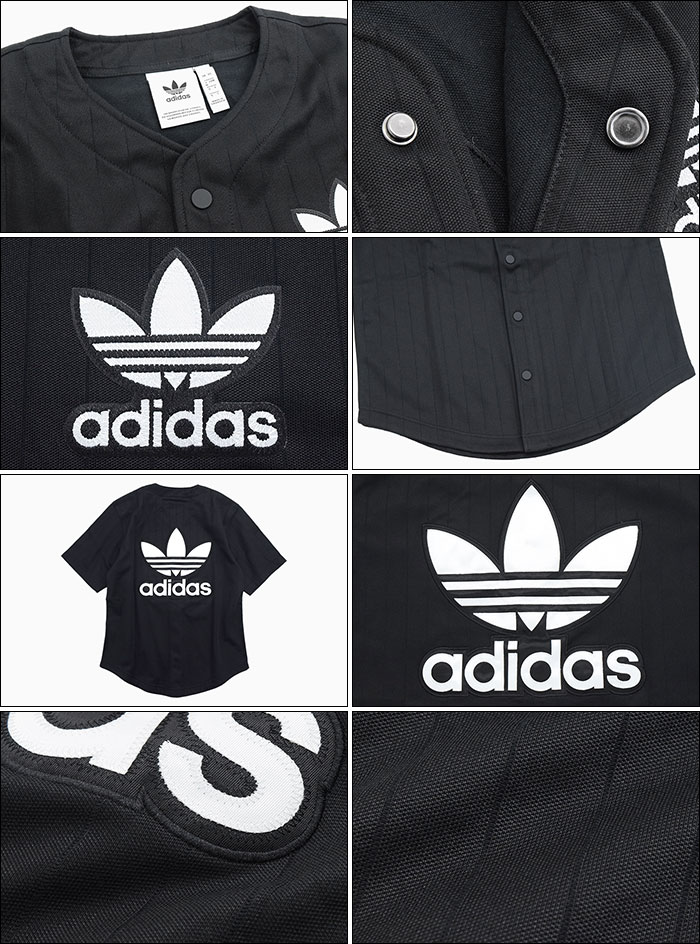 adidasアディダスのシャツ Baseball Shirt07