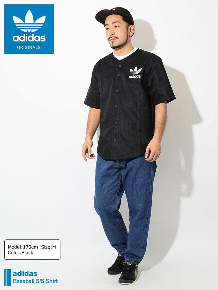 adidasアディダスのシャツ Baseball Shirt01