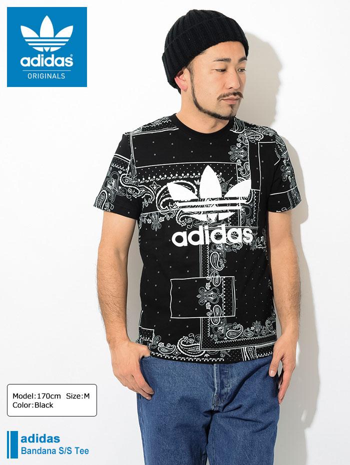 adidasアディダスのTシャツ Bandana01