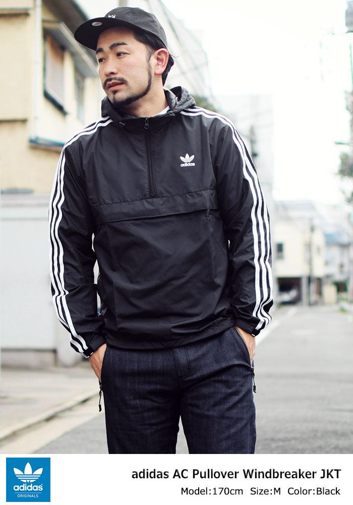 adidasアディダスのジャケット AC Pullover Windbreaker01