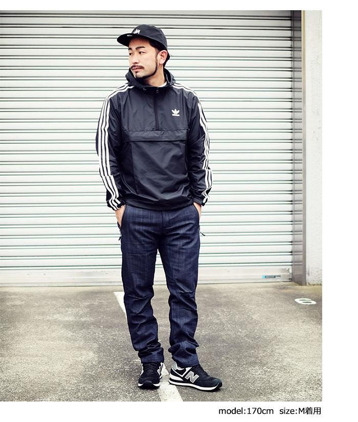 adidasアディダスのジャケット AC Pullover Windbreaker02