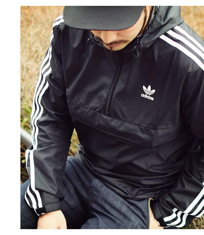 adidasアディダスのジャケット AC Pullover Windbreaker03
