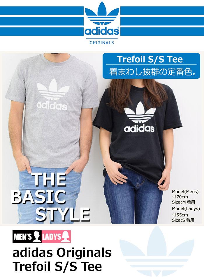 adidasアディダスのTシャツ トレフォイル11