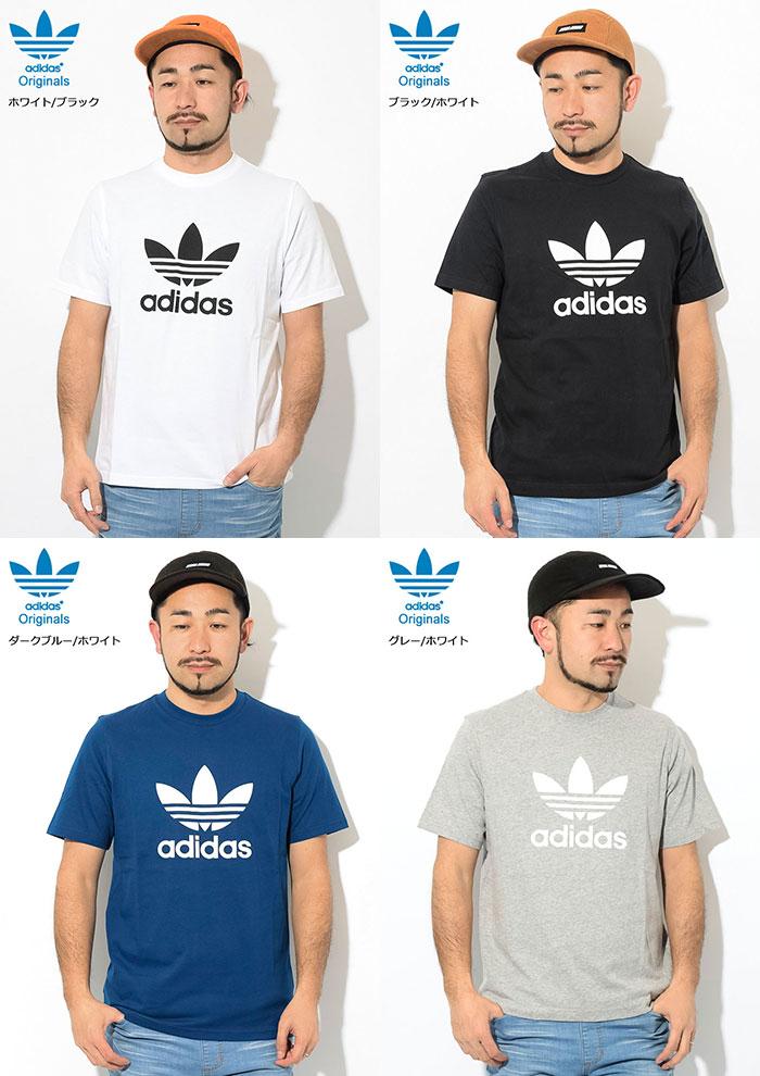 adidasアディダスのTシャツ トレフォイル12